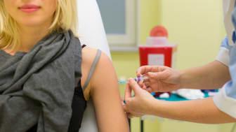 Klart för vaccination av elever på plats på De la Gardiegymnasiet