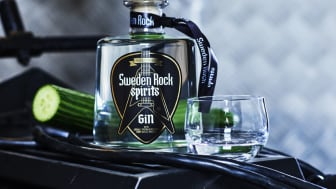 Sweden Rock Spirits gin.