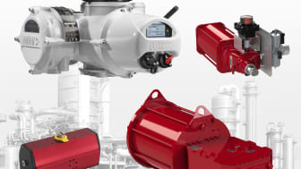 IQ, CP, GP and RC actuators enable Rotork to provide a single source for flow control.