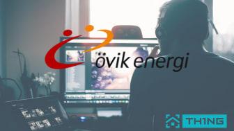 TH1NG lanserar tjänster i Övik Energis öppna fibernät