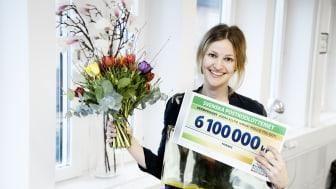 Friends generalsekreterare Maja Frankel