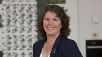 Ulla Bergström får fortsatt förtroende som Norrmejeriers ordförande. Foto: Jan Lindmark