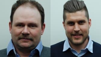 Tomas Rydén och Christoffer Johansson