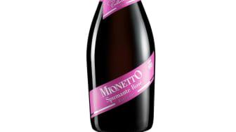 Succé för nya Mionetto Rosé