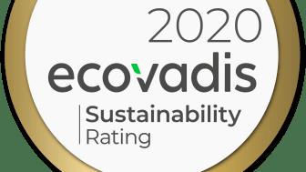 Guldranking från EcoVadis till Linde Material Handling