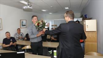 Oscarsgymnasiet i Oskarshamn är Årets transportskola 2020