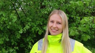 Projektledare Sofie Vessling