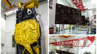 La construction du satellite EUTELSAT 8 West B franchit la dernière étape