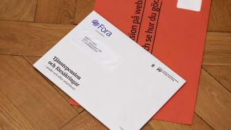 Tjänstepension i brevlådan