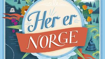 """Det ser ut til å bli Norgesferie for de fleste av oss i år, også. En gyllen mulighet til å bli bedre kjent med vårt eget land. Den ferske boken """"Her er Norge"""" er en perfekt ferieplanlegger for hele familien."""