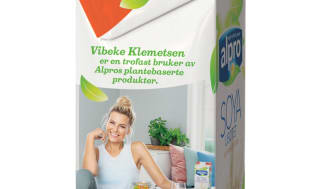 Alpro Soya usøtet - Vibeke Klemetsen