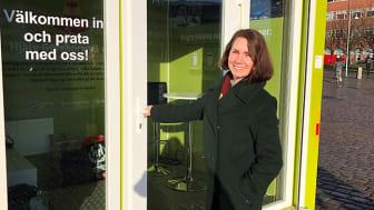 Anna Pellegrini, projektledare för Trygga Lindholmen.