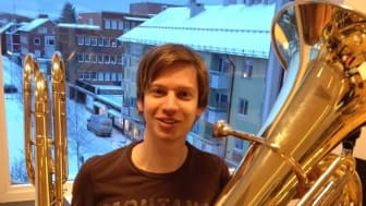 Kristoffer Siggstedt är årets Hasselgårdstipendiat