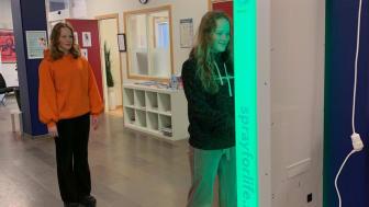 Kalmar Fria Läroverk installerar kroppstemperaturscanner