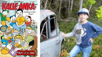 11-årige Thor blev ankifierad och redaktör för Kalle Anka & C:o