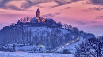 Leuchtenburg im Winter  ©/F: Stiftung Leuchtenburg
