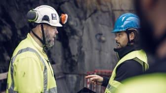 Digitala verktyg hjälper byggföretagen att säkra arbetsmiljön under coronapandemin. Foto: Infobric AB