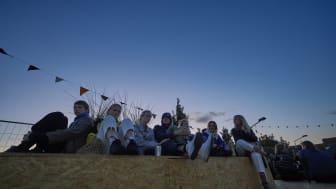 PLATFORM kunstfestival var en af de projekter, der fik støtte til at lave et event under dette års festuge.