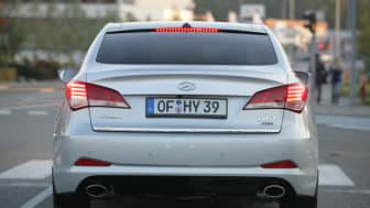 Hyundai i40 sedan bakfra