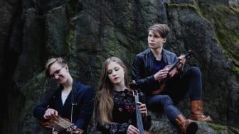 Trio Törn spelar på Bror Hjorths Hus