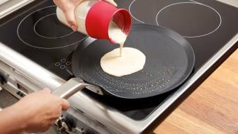 Smetblandaren gör det snabbt och enkelt att laga smarriga crêpes och pannkakor!