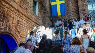 Medborgarskapsceremoni i Stockholms stadshus Foto: Mostphotos