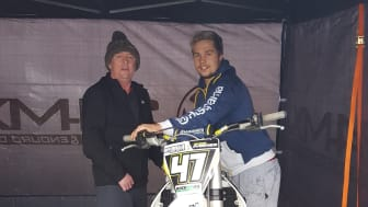 Cramlington motorcross racer organises charity race for dad