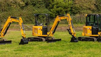 Cat 302.7 CR, Cat 303 CR samt Cat 303 CR Next generation