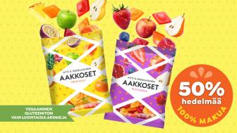 Uusi Aakkoset Aito & Hedelmäinen – karkki vai hedelmä?