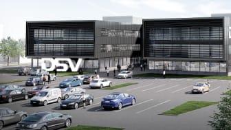 DSV builds Europe's largest logistics centre in Horsens, Denmark