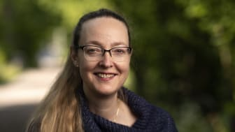 Lena Rydholm, professor i kinesiska vid Uppsala universitet, tog sitt inträde som ny ledamot i Kungl. Vitterhetsakademien 1 oktober. Foto: Mikael Wallerstedt