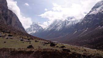 Langtangområdet i Nepal drabbades hårt av jordbävningen 2015.