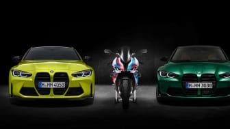 Helt nya BMW M3, BMW M4 och BMW M 1000 RR