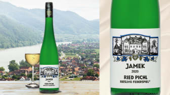 Nu går det att beställa Ried Pichl Riesling Federspiel 2020 från den omtyckta vingården Jamek i DAC-området Wachau i Österrike.