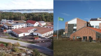 Fiskebäck äldreboende i Lysekil och vård- och omsorgsboendet Västanvid i Knislinge.