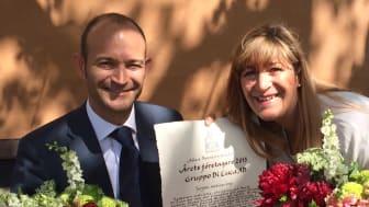 Familjen Di Luca utsedda till Årets Företagare