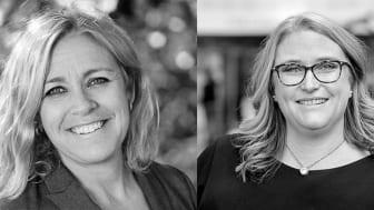 Alexandra Stassais Söderblom och Ida Fagerström