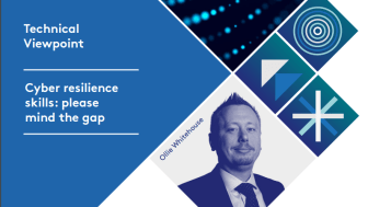 Technical Viewpoint: Cyber resilience skills: please mind the gap