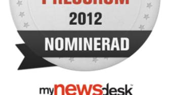 Saint-Gobain Abrasives nominerad till Årets Pressrum 2012