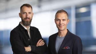 Thomas Bertilsson (th) och Peter Dennbrink (tv)