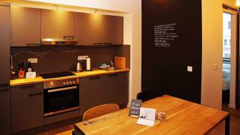 Die FELIX SUITEN enthalten eine Küche, die längere Aufenthalte möglich machen
