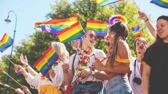 Bilde fra Oslo Pride paraden 2018. Foto av Ida Toldnæs / Oslo Pride