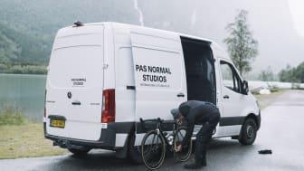 Mercedes Sprinter på eventyr med Pas Normal Studios