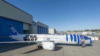 Singapore Changi Airport to welcome world's first Star Wars™ themed plane by ANA