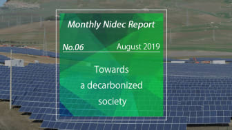 Monthly Nidec Report - Towards a decarbonized society