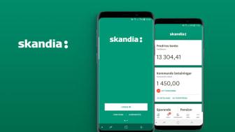 Smart Refill lanserar ny version Mobilbanken åt Skandiabanken