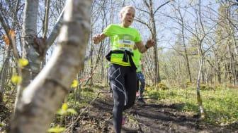 3000 löpare springer STHLM Trail Run i morgon