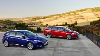 Stærkt opdateret Ford Focus