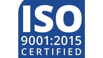ISO 9001-2015 Certificering
