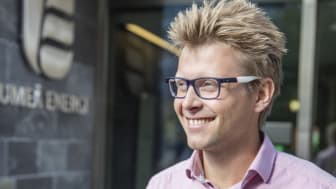 David Lindström, affärschef Umeå Energi Bredband
